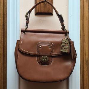Genuine leather Coach shoulder bag. No G1269-19132